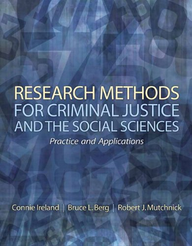 Research Methods for Criminal Justice and the Social Sciences   2010 edition cover