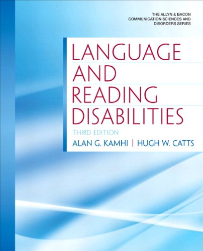 Language and Reading Disabilities  3rd 2012 edition cover