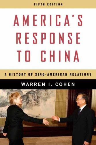 America's Response to China A History of Sino-American Relations 5th 2009 9780231150774 Front Cover