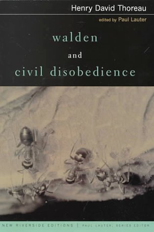 Walden and Civil Disobedience   2000 edition cover