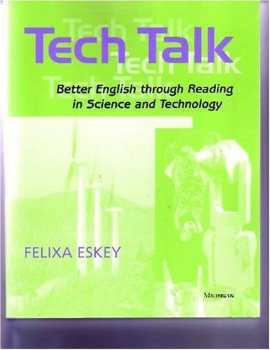 Tech Talk Better English Through Reading in Science and Technology  2005 edition cover