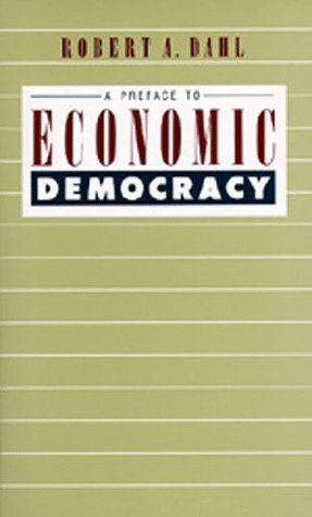 Preface to Economic Democracy  N/A edition cover