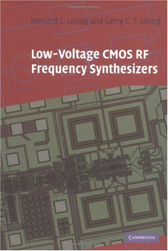 Low-Voltage CMOS RF Frequency Synthesizers   2004 9780521837774 Front Cover