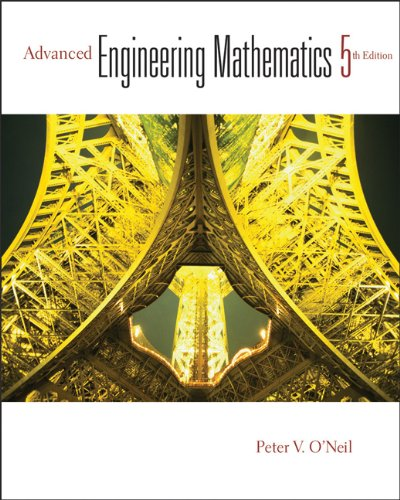 Advanced Engineering Mathematics  5th 2003 9780534400774 Front Cover
