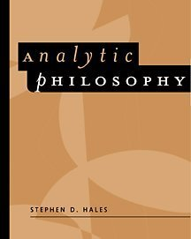 Analytic Philosophy Classic Readings  2002 9780534512774 Front Cover
