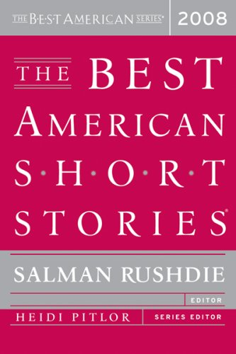 Best American Short Stories 2008   2008 edition cover