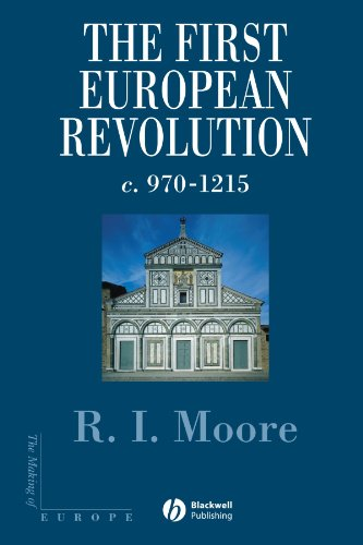 First European Revolution 970-1215  2000 edition cover