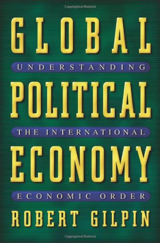 Global Political Economy Understanding the International Economic Order  2001 edition cover