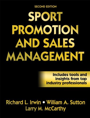 Sport Promotion and Sales Management  2nd 2008 edition cover