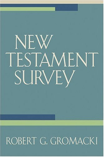 New Testament Survey  N/A edition cover