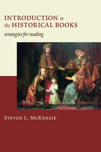 Introduction to the Historical Books Strategies for Reading  2010 edition cover