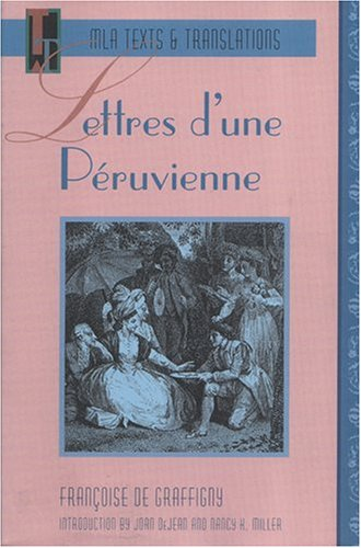 Lettres d'Une P�ruvienne   1993 edition cover