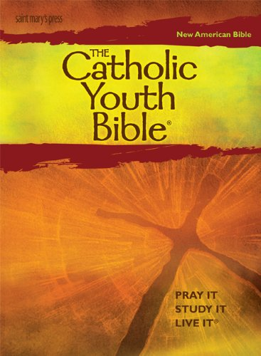 Catholic Youth Bible New American Bible - Pray It, Study It, Live It 3rd 2010 edition cover