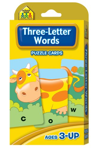 Three-Letter Words  Revised  9780887432774 Front Cover