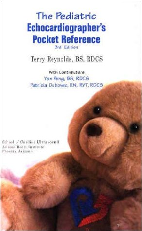 Pediatric Echocardiographers Pocket Reference N/A 9780963576774 Front Cover
