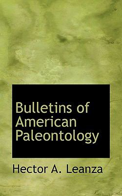 Bulletins of American Paleontology  N/A 9781116674774 Front Cover