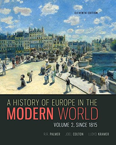 Combo: a History of Europe in the Modern World Vols. 1 And 2  11th 2014 9781259656774 Front Cover