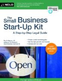 Small Business Start-Up Kit A Step-By-Step Legal Guide 8th edition cover
