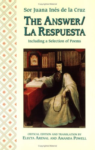 Answer - La Respuesta Including a Selection of Poems  1994 edition cover