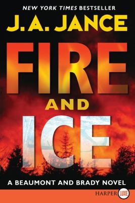 Fire and Ice  Large Type  9780061774775 Front Cover