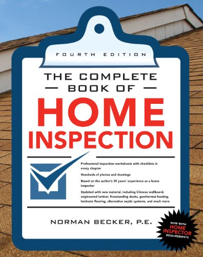 Complete Book of Home Inspection  4th 2011 (Revised) edition cover