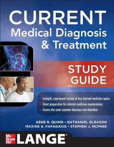 CURRENT Medical Diagnosis and Treatment Study Guide   2014 edition cover