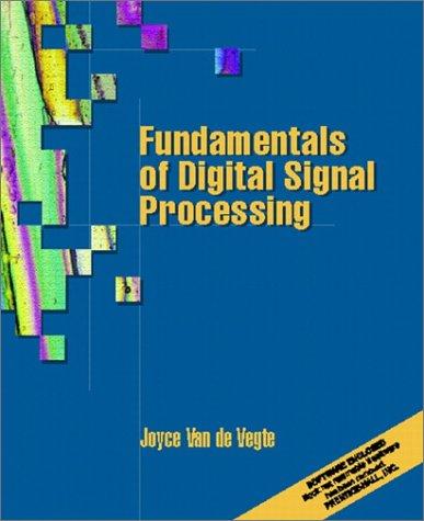 Fundamentals of Digital Signal Processing   2002 9780130160775 Front Cover