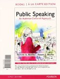 Public Speaking An Audience-Centered Approach, Books a la Carte Edition Plus NEW MyCommunicationLab with Pearson EText -- Access Card Package 9th 2015 9780133792775 Front Cover