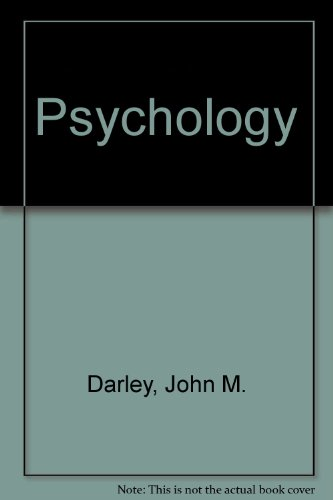Psychology 5th 9780137343775 Front Cover