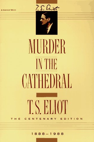 Murder in the Cathedral   1964 edition cover