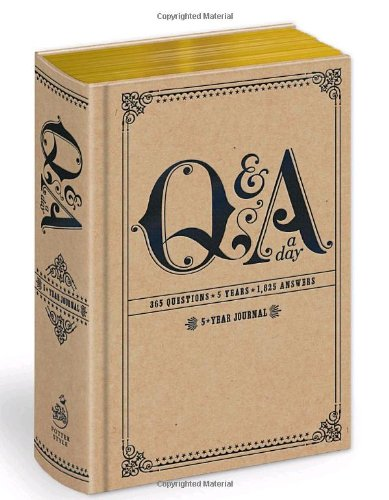Q&a a Day 5-Year Journal N/A 9780307719775 Front Cover