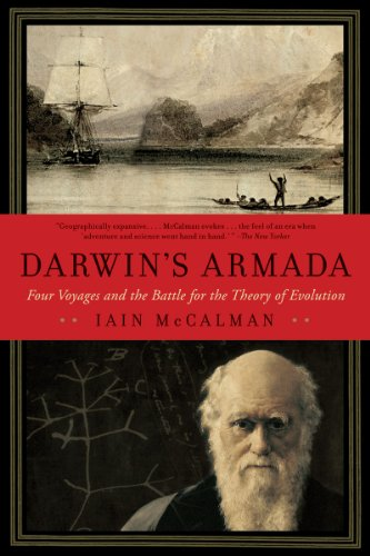 Darwin's Armada Four Voyages and the Battle for the Theory of Evolution N/A edition cover