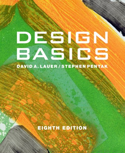Design Basics Includes CourseMate Printed Access Card 8th 2012 9780495915775 Front Cover