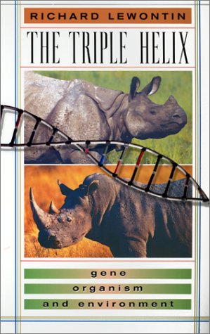 Triple Helix Gene, Organism, and Environment  1998 edition cover