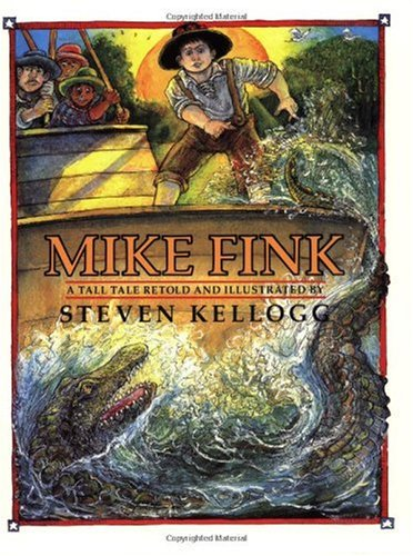 Mike Fink   1998 edition cover