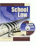 School Law A California Perspective W/ Cd 4th 2010 (Revised) edition cover