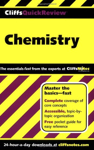 CliffsQuickReview Chemistry   2001 edition cover