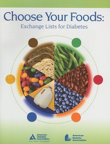Choose Your Foods Exchange Lists for Diabetics  2008 edition cover