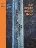 Design and Control of Concrete Mixtures  16th 2016 9780893122775 Front Cover