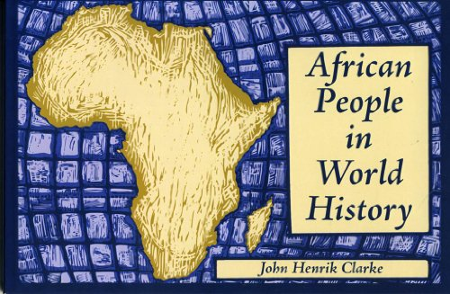African People in World History : A Lecture and Illustrated History 1st 9780933121775 Front Cover