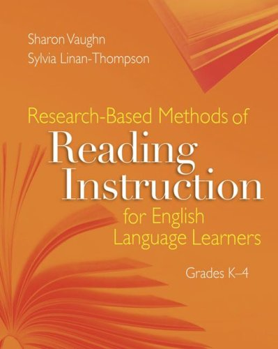 Research-Based Methods of Reading Instruction for English Language Learners. Grades K-4   2007 edition cover