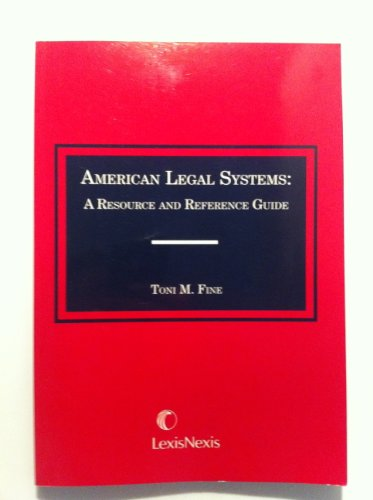 American Legal Systems   2008 edition cover