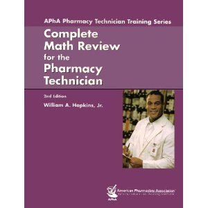 Complete Math Review for the Pharmacy Technician  2nd 2006 (Revised) edition cover