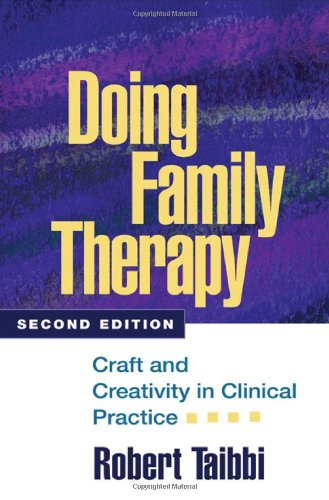 Doing Family Therapy Craft and Creativity in Clinical Practice 2nd 2007 (Revised) edition cover