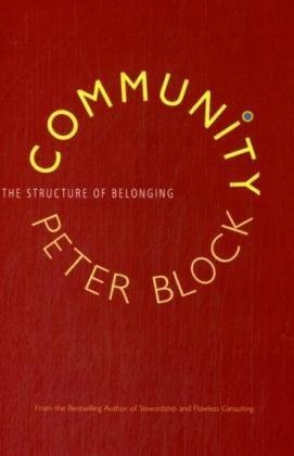 Community The Structure of Belonging  2009 edition cover