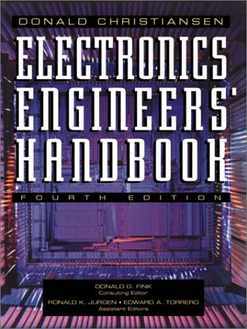Electronics Engineers' Handbook  4th 1997 edition cover
