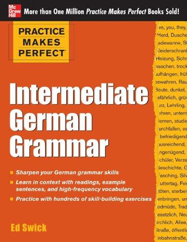 Practice Makes Perfect Intermediate German Grammar   2013 edition cover