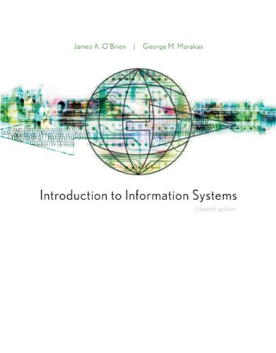 Introduction to Information Systems (Loose Leaf) 15th 2010 edition cover