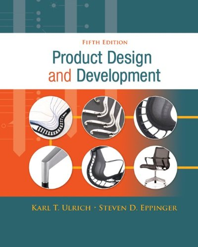 Product Design and Development  5th 2012 edition cover