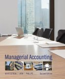 Loose-Leaf for Managerial Accounting  2nd 2014 9780077493776 Front Cover